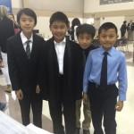 4 boys