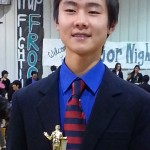Alexander Zhao won debate tournament representing Kudos in 2013.