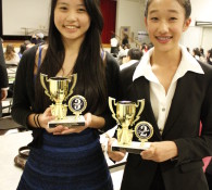 3rd Speech tournament at Sierra Prep-Melinda and Jessica