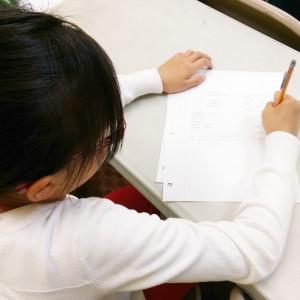 Kids writing Impromptu notes (2)