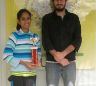 Shriya with Trophy (5)