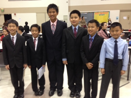 Temple City Contestants
