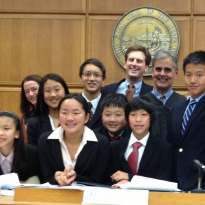 Kudos won the 3rd place in the 35th Los Angeles Mock Trial Tournament