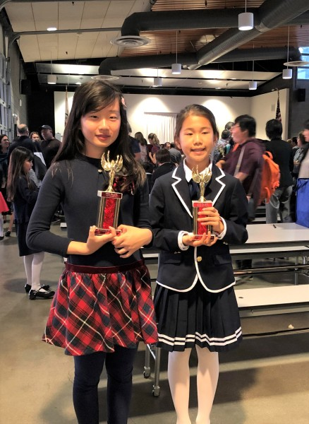 Victoria Fang and Joy Sun